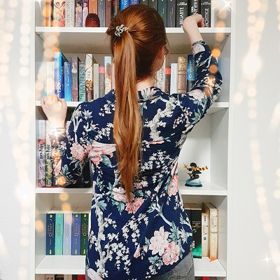 Ordnung im Bücherregal